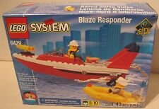 LEGO 6429 Blaze Responder Firefighter Boat brand new in the box FLOATS