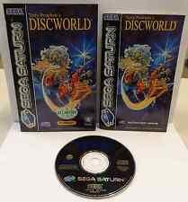 Console Gioco Game SEGA SATURN PAL ITALIANO - Terry Pratchett's - DISCWORLD - IT