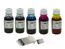 Bulk refill ink kit for Epson 802 802XL T802 WorkForce Pro WF-4734 WF-4740 500ML