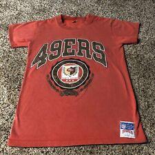San Francisco 49ers vintage t-shirt youth L Nutmeg USA