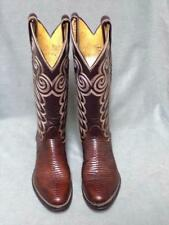 Vintage Tony Lama Exotic Skin Western Cowboy Boots Women's Size 4.5C
