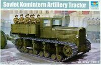 Trumpeter 1:35 Soviet Komintern Artillery Tractor Model Kit