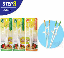 X 2 Edison Left-handed Adult Training Chopsticks Patented Remedy Tool Helper