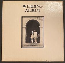 The Beatles John Lennon 1969 Wedding Album Box 1st Pressing Apple