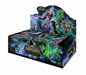 New Sealed Throne of the Tides Booster Box World Warcraft WoW TCG CCG 36 Packs