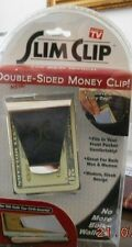 USA SLIM CLIP Newi retail Package Double Sided Money Clip & Credit Card Holder