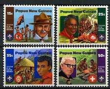 Papua New Guinea 1981 SG#426-9 Boy Scout Movement MNH Set #A83449
