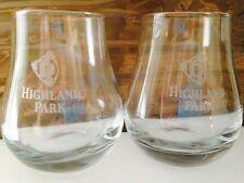 Highland Park Scotch Malt Whisky Glasses X 2 Brand New