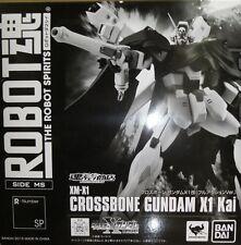 Used Bandai Robot Spirits SIDE MS Crossbone GUNDAM X1 Kai Full Action Ver.