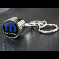 Original Dodge Chrysler Mopar Logo Muscle Car Schlüsselanhänger Anhänger Chrom