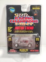 1996 DODGE VIPER CHROME REAL RIDERS RACING CHAMPIONS MOTOR TREND SC #5 MINT
