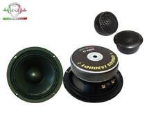 Kit SPL 2 vie 16cm Mid Woofer LOUDEST SOUND + Tweeter GROUND ZERO auto 165mm
