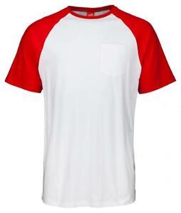 Santa Cruz cut and sew Dot pocket raglan red/white FREE J&J'S STICKER+BADGE