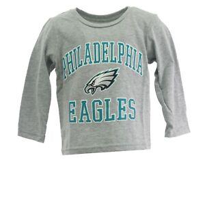 Philadelphia Eagles Official NFL Apparel Infant Toddler Size Long Sleeve Shirt