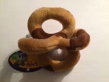 Loopies Teacup Brown Cow Print Toy