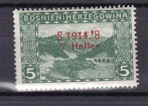 Bosnia Herzeg - 1914 -  Michel 89 I/III - error overprint - MNH
