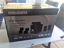Surround Sound System_ Mini  RIVERA ACOUSTICS High Definition 5.1 Home Theatre M