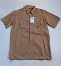 CAMISA CARHARTT MASTER camisa s/s (caída tintados) TALLA XS VALOR
