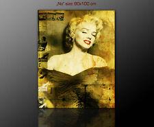PAUL SINUS - Marilyn Monroe  Bilder modern stilvoll 100x80 cm KLASSIKER