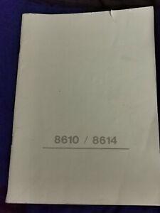 Necchi 8610 8614 Sewing Machine Manual