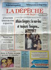 Journal régional Février 1993: L'affaire GREGORY VILLEMIN