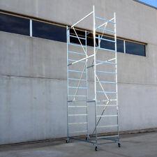 Trabattello USATO Acciaio Zincato - 3 Campate - Altezza Lavoro 4,70 metri