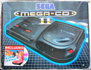 Sega Mega-CD II Game Console [PAL] [Boxed]