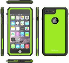 iPhone 8 Plus 7 Plus Case Slim Military IP68 Water Sand SnowProof Lime Green