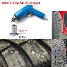 1000PCS Tires Studs Screw Snow Spikes+Air Gun Tool For Shoes Car Motorcycle Tire