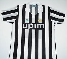 1990-1991 JUVENTUS KAPPA HOME FOOTBALL SHIRT (SIZE L)