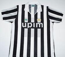 1990-1991 Juventus Kappa Hogar Camiseta de fútbol (tamaño L)
