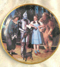 The Hamilton Collection Wizard Of Oz Collector's Plate Number 3992M Nice Gift
