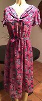Vintage Petite Christian Dior Dress,summer,rockabilly,day Dress