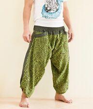 f6dc45e8054b0 Hippie Japanese Style Yogi Harem Pants Casual Yoga Trousers Tribal Rock  Green