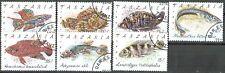 Tanzania, 1992, Fish, 816-822, full set, CTO with gum
