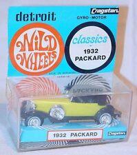 Cragstan Hong Kong 1:46 Detroit Wild Wheels PACKARD 1932 Gyro Motor MIB`68 RARE!