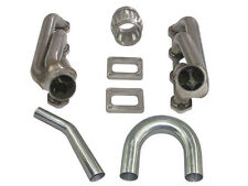 CXRacing Twin Turbo DIY Manifold Header Kit For Ford Fox Body Mustang 5.0L T3T4