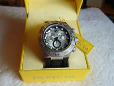 """Invicta 50mm Subaqua Sport Chronograph """"Swiss Made"""" Watch with Silicone Strap"""