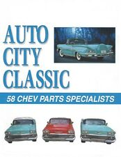 1958 Chevrolet Door Push Buttons for Handle Left Right Pair and 58 Parts Catalog