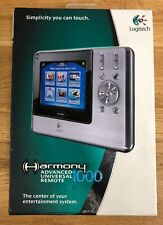 E9 Logitech Harmony 1000 Advanced Touch Screen Universal Remote Control