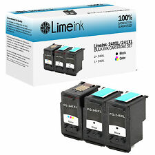 3 pk PG 240XL CL 241XL Ink Cartridge for Canon PIXMA MG MX Printer Series MG2120