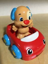 Fisher Price Laugh and Learn Puppy's Learning Car ABC's Play Toy & Figure