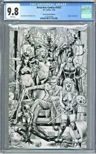 Detective Comics 1027 CGC 9.8 Street Level Hero Edition Virgin Sketch Anacleto
