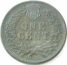1875 Indian Head Penny / Small Cent in SAFLIP® - XF- (VF+++) Details