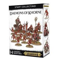 Start Collecting Daemons of Khorne Warhammer Age of Sigmar NIB