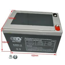 6-DZM-12 12V 15AH AGM Battery For Electric Mobility Scooters Golf Cart Mower
