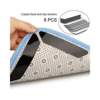 8Pcs Carpet Mat Grippers Anti Slip Rubber Rug Pad Sticker Skid Tape Reusable