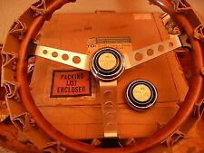 67 SHELBY GT350 GT500 EFFPI Wood Steering Wheel NOS New Original C.S. Box Oct 67