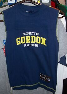 VINTAGE CHASE #24 DUPONT MUSCLE TEE SHIRT JEFF GORDON YOUTH EXTRA SMALL XS NWT