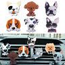 Fashion Cute Dogs Shape Funny Air Freshener Solid Fragrance Car Air Vent Perfume